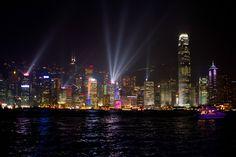 The Incredible Skyline of Hong Kong