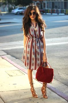 Dresses for Sunny Days: 18 Cute Outfit Ideas - Style Motivation