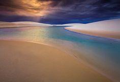 The dunes of Lencois Maranhenses National Park, Brazil The Color of Thunder by michaelanderson