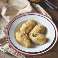 Carrot  Rice flour Dumplings, a vegan breakfast or snack