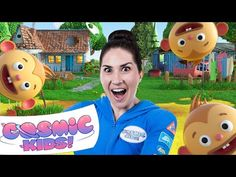The Twits   A Cosmic Kids Yoga Adventure 📚🐒🐒🐒🐒 - YouTube Roald Dahl Stories, Roald Dahl Day, Roald Dahl Books, Mrs Twit, Physical Activities For Kids, The Twits, Yoga Youtube, Yoga For Kids, Activity Games