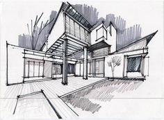 architectural sketches - Google Search