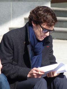 Benedict Cumberbatch & Mark Gatiss on the set of Sherlock Sherlock Cumberbatch, Benedict Cumberbatch Sherlock, Sherlock Bbc, Sherlock Poster, Sherlock Fandom, John Watson, Sherlock Season 3, Bbc Tv Series, Series 3