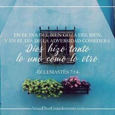 Eclesiastés 7:14-18❤️