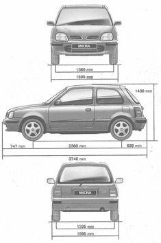 Nissan Micra blueprint