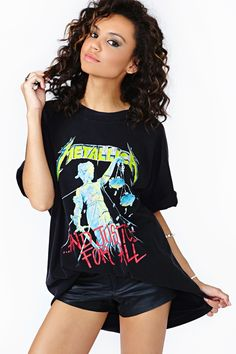 a $170 vintage Metallica shirt. And why I go through the black shirt bin at every thrift store