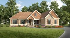 Split Bedroom Craftsman House Plan - 36073DK | 1st Floor Master Suite, CAD Available, Corner Lot, Craftsman, PDF, Photo Gallery, Traditional | Architectural Designs