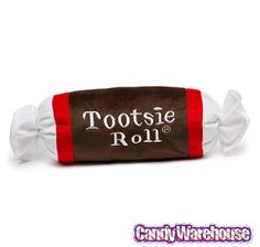 Just found Small Plush Candy Pillow - Tootsie Roll @CandyWarehouse, Thanks for the #CandyAssist!