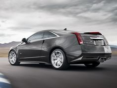 Cadillac CTS-V Coupe. Nothing beats big motors wrapped in sexy sheet metal. #ThisIsMyNext
