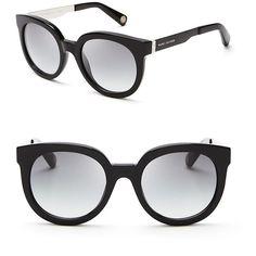 Marc Jacobs Oversized Round Sunglasses