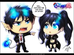 uhh rin quit it black rock shooter is a ....umm idk;o; brs has 1 flaming blue eye k rin uhh yeah