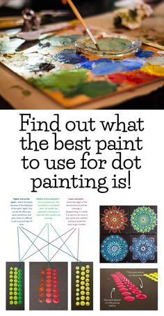 What is the best paint to buy for dot painting Does it need to be high end pro paint What about consistency What happens if the paint is too thick What is the best paint to buy for dot painting Does it need to be high end pro paint What nbsp hellip