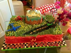 Disney Planes cake for a little man's birthday party