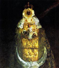 Virgen Negra de los Milagros. Juan Lara. Puerto Santamaría.