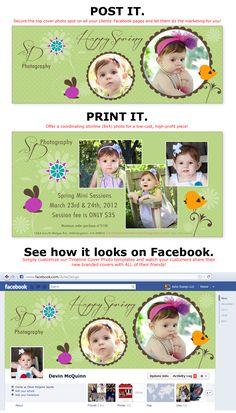 une Facebook Timeline Cover et un template pour vos photos...