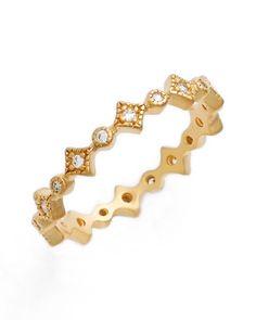 geometric stacking ring