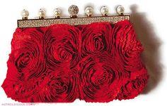 Valentino red clutch!!!!!