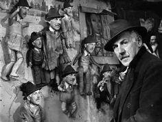 Henri Héraut et ses frères 1950 |¤ Robert Doisneau | 4 février 2016 | Atelier Robert Doisneau | Site officiel