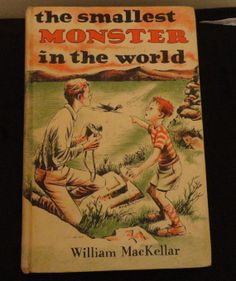 The Smallest Monster In The World Vintage Book By William Mackellar Copyright 1969 Collectible Children's Book by CoolCoolVintage, $4.00