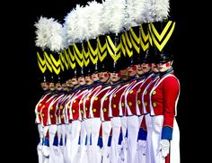 'Toy' soldier parade in the Radio City Christmas Spectacular. Image courtesy of MSG Entertainment
