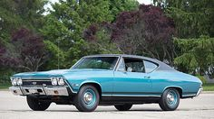 1968 Chevrolet Chevelle SS L78 396/375 HP, 4-Speed, Highly Optioned presented as lot S64 at Kansas City, MO