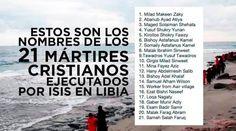Iglesia Ortodoxa reconocerá oficialmente como mártires a los 21 cristianos decapitados por ISIS