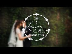 100 Luxury Wedding Titles - Project for After Effects (Videohive) Wedding Titles, Wedding Film, After Effects Projects, After Effects Templates, Wedding Typography, Cinematic Trailer, Logo Reveal, Title Sequence, Types Of Photography