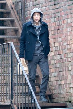 First Photo Of Jesse Eisenberg As Lex Luthor In 'Batman v Superman: Dawn Of Justice' Revealed