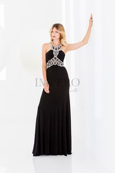 cb9f14642f26 BU 23642-2  abiti  dress  wedding  matrimonio  cerimonia  party  event   damigelle  nero  black