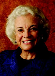 Sandra Day O'Connor of Arizona was the first female Supreme Court Justice.
