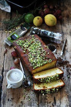 Cake au citron au sirop parfumé herbes de Provence et poivre FUCHS...