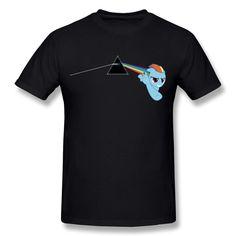 TIKE Men's Pink Floyd Dark Side Of Rainbow Dash Tshirt ** Hurry! Check out this great item : Hammock tent Hammock Tent, Camping Hammock, Hammocks, Pink Floyd Dark Side, Rainbow Dash, Colorful Shirts, Tees, Color Black, Mens Tops