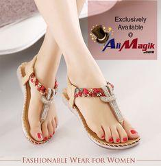 d78234e2d1bb Women Sandals Summer Slippers New beach Flip Flops Flat Shoes Ladies Shoes