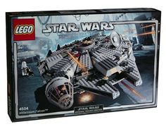 Lego Star Wars Episode III Millennium Falcon, Han Solo's battle-scarred cargo vessel has undergone a transformation and now has a whole new look. The Millennium Falcon LEGO set is sleek and smooth and now a fast, tough smuggling vessel. Star Wars Set, Star Wars Darth, Lego Star Wars, Darth Maul, Star Trek, Black Friday Toy Deals, Play The Video, Millenium Falcon, Buy Lego
