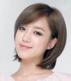 model rambut pendek ala korea untuk wajah bulat