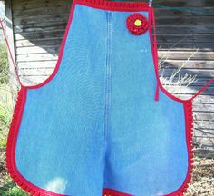 Recycled Denim Jeans Full by LeapofFaithCreations on Etsy, $20.00