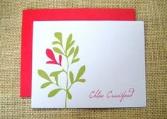 Enter to win a set of personalized stationary from Leen Machine Paper Studio!