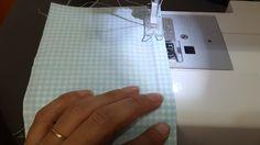 Acompanhe o passo à passo de como fazer uma necessaire box de tecido.