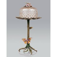 For a lovely tea party! :)    Phillipa Butterfly & Fern Sweet Server - Flora