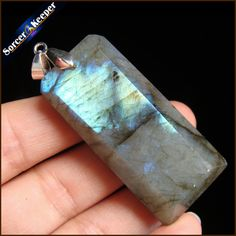Women & Men Fashion Jewelry Pendants Necklaces With Chain Wholesale Labradorite Moonstone Quartz Stone Colares Femininos HS135