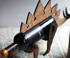 Stegosaurus Wine Rack