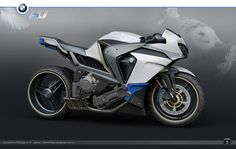 BMW Ghost - I generally dont like the sport bikes to ride but this one just looks so cool.