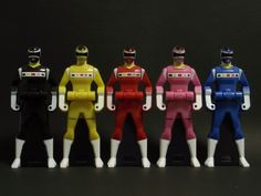 Power Rangers In Space Toys