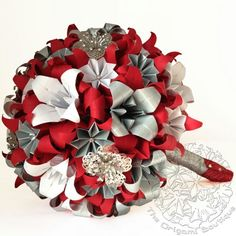 Find This Pin And More On Wedding Red Silver