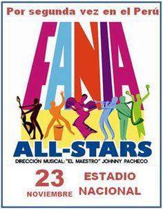 Expresión Latina: 23 de noviembre, Estadio Nacional: Fania All Stars en histórico concierto