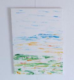 2018 - Acryl auf Leinwand 40 x 30 cm Mein Portfolio, Mint, Bronze, Abstract, Canvas, Pictures, Peppermint