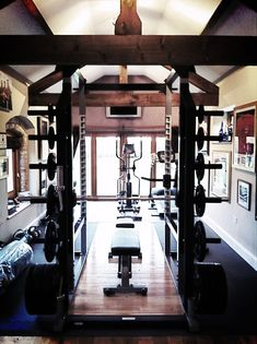 Definitely need the big squat rack. This is definitely a start for the home gym.