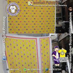 Custom Print Textile Kain Kanvas Tebal (Poly Kanvas) Berkualitas by DIGITHING Digital