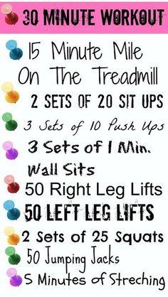 30 Min workout