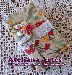 Ateliana  Artesanatos: Capa para Bíblia de Tecido com Passo a Passo